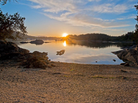 AN ISLAND IN THE HEART OF THE CANADIAN GULF ISLANDS