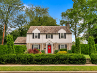 CHARMING STONE COLONIAL IN THE VERY DESIRABLE WESTERN SECTION OF GARDEN CITY