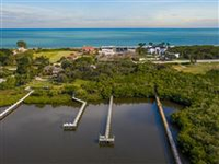 FABULOUS RIVERFRONT SITE WITH LONG PRIVATE DOCK