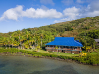 PANORAMIC VIEWS FROM MOLOKAI'S SEA SHORE