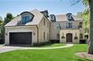 SOLID BRICK AND LIMESTONE FRENCH MANOR HOME
