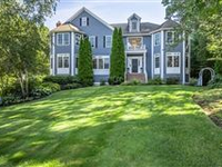 STATELY CUSTOM COLONIAL WITH GORGEOUS, PRIVATE BACKYARD