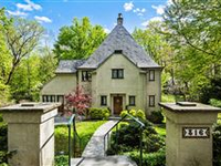 DRAMATIC MEDIEVAL STYLE RESIDENCE IN RIVERDALE