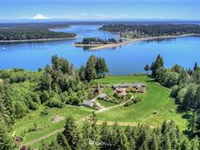 STUNNING 31-ACRE SOUTH PUGET SOUND WATERFRONT ESTATE