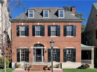 EXQUISITE FEDERAL STYLE HOME ON PREMIER BLOCK