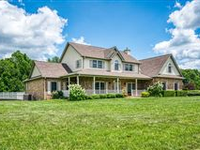 BEAUTIFUL COUNTRY HOME ON 22 ACRES