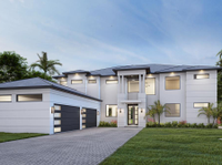 NEW WATERFRONT CONSTRUCTION IN TEQUESTA COUNTRY CLUB