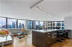LUXURY HIGH-RISE APARTMENT OVERLOOKING DOWNTOWN CHICAGO