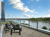 LUXURIOUS CONDO WITH EXPANSIVE AND UNOBSTRUCTED CITY AND RIVER VIEWS