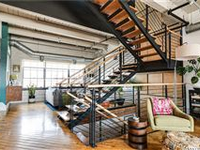 OPEN AND GORGEOUS CONDO LOFT WITH ROOFTOP DECK
