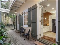 CREOLE TOWNHOME ON QUIET FRENCH QUARTER BLOCK