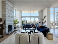 ELEGANT LIVING AND ENTERTAINING SPACE