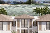 NEW TROPICAL ISLAND-INSPIRED INTRACOASTAL ESTATE