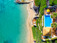 IMPERIAL PRIVATE BEACH VILLA WITH TWO PRIVATE POOLS IN ZAKYNTHOS