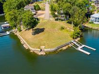 THE BEST BUILDING LOT ON PICKWICK LAKE WITH PRIVATE WATER FRONTAGE