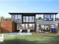 UNIQUE NEW HOME IN GATED ENCLAVE