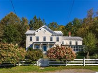 PEACEFUL HISTORIC FARMHOUSE OVERLOOKING GORGEOUS ROLLING MEADOWS