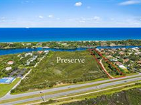 THREE ACRE SITE ON THE INTRACOASTAL BORDERING PRESERVE