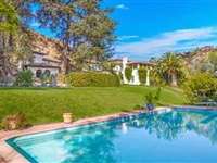 EXTREMELY PRIVATE HACIENDA STYLE OLD HOLLYWOOD RESIDENCE