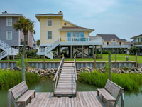 VERY RARE SOUND FRONT HOME ON OCEAN ISLE'S WEST END