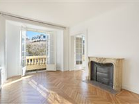 CHARMING APARTMENT IN AN ELEGANT EARLY 20TH CENTURY FREESTONE BUILDING ENJOYS OPEN VIEWS