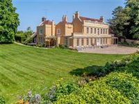 HANDSOME COUNTRY HOUSE WITH GORGEOUS GARDENS AND GROUNDS ON 5+ ACRES