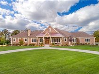 SPECTACULAR CUSTOM HOME ON A SCENIC LOT IN BEAUTIFUL ROSE OF SHARON ESTATES