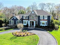 ELEGANT CENTER HALL COLONIAL WITH GORGEOUS FLOOR PLAN