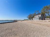GORGEOUS RARE PROPERTY ON LONG ISLAND SOUND FRONTAGE