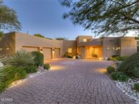 STUNNING CONTEMPORARY PIMA CANYON HOME WITH SWEEPING MOUNTAIN VIEWS