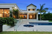 PRIVATE MODERN HOME ON BEAUTIFULLY KEPT GROUNDS