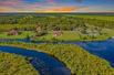 21 ACRE SECLUDED WATERFRONT ESTATE