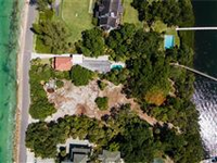 REMARKABLE GULF-TO-BAY LOT