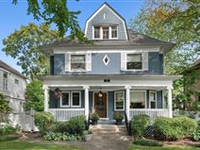 BEAUTIFUL COLONIAL IN A PERFECT EAST WILMETTE LOCATION
