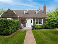 CHARMING AND SPACIOUS CLASSIC HAMPTON HOME ON HISTORIC SITE