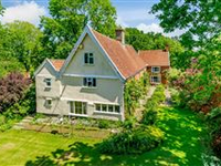 THE GRANGE - GORGEOUS PART-MOATED RED BRICK FARMHOUSE