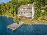 PRIME CANANDAIGUA LAKE HOME WITH MILLION DOLLAR VIEWS
