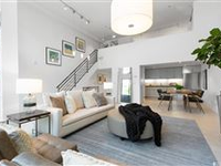 STUNNING THREE LEVEL CONDO WITH HUGE WINDOWS IN MISSION DISTRICT