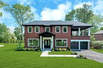 CLASSIC AND TIMELESS NEW ALL BRICK COLONIAL IN HARBOR HILLS