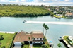 MAGNIFICENT WATERFRONT SETTING ON LARGE CORNER LOT
