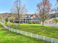 FEDERAL STYLE COUNTRY HOME ON 56 ACRES