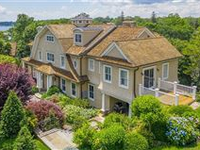MAGNIFICENT DIRECT WATERFRONT NANTUCKET SHINGLE HOME
