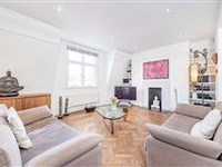 LOVELY TOP FLOOR FLAT OFFERS FAR REACHING VIEWS ON THREE SIDES OF THE BUILDING