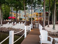 WATERFRONT NEW ENGLAND INSPIRED HOME