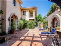 GORGEOUS GATED TUSCAN-STYLE VILLA IN THE BURBANK HILLS