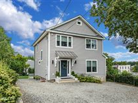 CHIC AND RENOVATED, SUN-FILLED DOWNTOWN GREENWICH HOME